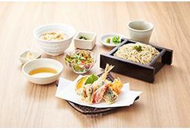 こだわりのそばとおだし料理を楽しむ和食処
