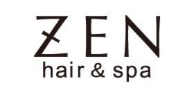 ZEN hair&spaのロゴ画像